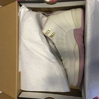 Wholesale Ladies Fashion Trainers - air retro 12 basketball shoes for women XII 12s girl outdoor trainers sneakers lady fashion white pink hot wholesale Heiress Plum