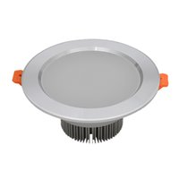 aluminum wall lamp - Led Spotlight W AC100 V Power Driver Led Downlight Recessed Cabinet Wall Spot Ceiling Lamps White Warm White For Home Lighting