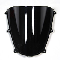 Wholesale Injection ABS Double Bubble Blue Black Clear Windshield For Honda CBR600RR F5 Year Motorcycle Windscreen