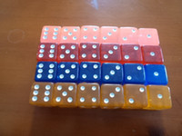 bars game - 6 Sided Clear Dice mm Square Corners Transparent Dices Crystal Boson Acrylic KTV Bar Nightclub Drinking Game Dice Good Price F8