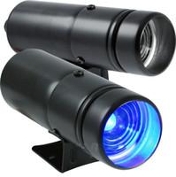 Wholesale Black Case Blue LED Lamp High Quality Tachometer RPM PRO Shift Light Red Adjustable Gauge Warning Shift Light Auto gauge