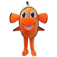 Wholesale Nemo clown Fish Mascot Adult Costume Hot Cartoon Character From Find Nemo Anime Costumes Carnival Fancy Dress For School