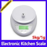 baking weights - 5KG g Household Scales retail box kitchen scale with backlight electronic baking balance weight MOQ