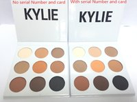 Wholesale In stock Hot sell Kylie Eyeshadow Cosmetics Jenner Kyshadow pressed powder eye shadow Kit Palette Bronze Preorder Cosmetic DHL Free