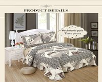 antique chic bedding - Jessy Home Antique Chic Quilted Patchwork Throw Leopard bedding set queen king set
