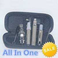 Wholesale High quality in vape pens dry herb wax globe glass atomizer mt3 liquid clearomizer all in one vaporizer e cig kits