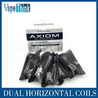 Innokin más barata España-Innokin el precio más barato para el tanque de Axiom y la bobina de Axion 0.5ohm Kanthal 0.5ohm bobina horizontal dual 5pcs / paquete suteable para el atomizador del sub-ohmio