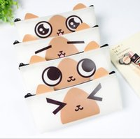 Cheap Wholesale-Cute expression express pencil bag pencil case  fashion stationery Nice Gift Papeleria Office school supplies WJ0380