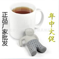 Wholesale Mr Tea Fred Infuser Mr Tea Coffee Strainers Silicone Fred Mr Tea Hot Sale jj