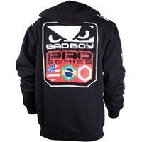 Wholesale NEW Muay Thai Fighting MMA Boxing Hoodie Jacket Jumper Boxing Zipper MMA Hoodie
