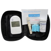 ah meter - Best Buys Medical Diabetes Household Blood Sugar Minotor medidor de glucosa Test Blood Glucose Meters AH