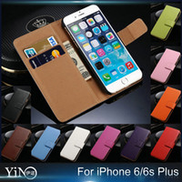 Genuine Leather bag holder stand - For iPhone s Plus SE S iphone Genuine Leather Wallet With Stand Case Phone Bag Card Holder
