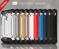 ballistic armor - Dual Hybrid Armor Ballistic TPU Rugged PC Aluminum Hard Case Slim Tough ShockProof For Huawei Ascend P8 P9 Lite Mate Xiaomi M5 Mi5 skin
