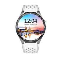 Android Russian Passometer KingWear KW88 Android 5.1 1.39 inch Amoled Screen 3G Smartwatch Phone MTK6580 Quad Core 1.39GHz GPS Gravity Sensor Pedometer