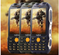 banks english - TKEXUN Q7 Q8 Phone With Power Bank MAH Analog TV Dual SIM Card Senior Dual Flashlight Big Speaker Inch Phone