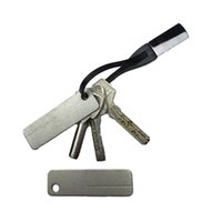 achat en gros de fichiers de noël-2016 EDC Pocket Sharpener pierre de diamant Keychain pour couteau Fish Hook doigt ongles File Outdoor camping outil cadeau de Noël L20