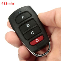 Wholesale Universal Channels Cloning mhz Electric Garage Gate Door Remote Control Fob