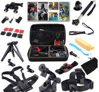 band cam - 2016 Action Cam Accessories Travel kit Head Chest Belt Wrist Band Bobber Floating gopro kit For hero3 Sj4000 sjcam xiaomi
