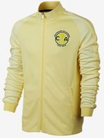 america coat - Camisa Club America Chandal Club America jacket home and away coat O Peralta coat men sports wear