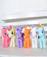 animated cute animals - Toy Dolls Pony Bao Li Lovely Animated Cartoon Angel Little Furry Pony Doll Birthday Gift Cute Animal Plush Toys