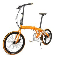 bicycle paint designs - 20 inches of folding bicycles Aluminum alloy frame disc brake folding bikes Ergonomic design Electrostatic painting tb250910