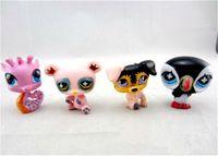 big pet shop - Q Pet Garden LPS Littlest Pet Shop Mini Animal Toy Hasbro Children Action Figures Christmas Toys And Gifts