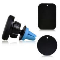 téléphone titulaire air de voiture universel magnétique voiture mobile vent Support Stand pour iPhone 6 GPS 5S Ipad Samsung