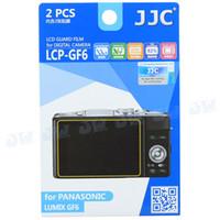 Wholesale JJC Anti smudge Anti reflecting Anti scratch High transmission LCD Guard Film Screen Protector for Panasonic Lumix GF6 Camera