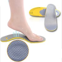 Wholesale Pair D Premium Comfortable Orthotic Shoes Insoles Inserts High Arch Support Pad for women men