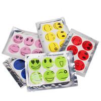 Wholesale Stock Ready pack Anti Mosquito Repellent Sticker Patch Citronella Mosquito Killer Smiling Face Drive Midge