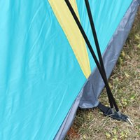 Wholesale New Outdoor Beach Camping Tent Family Waterproof Rainproof Tent for Persons Hiking Backpacking Travel Fishing Tents