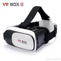 Wholesale Universal Google Cardboard VR BOX Virtual Reality D VR Glasses VR Box For iPhone IOS Android