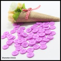 apparel sewing button - 15mm Hot sale Hole Resin Button Fit Sewing Scrapbooking Apparel Sewing Garment accessories c4