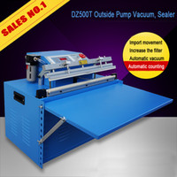 packaging machine - DZ500T finish rice commercial vacuum sealer industrial vacuum package machine Desktop outside pumping vacuum packaging machine