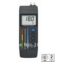 bar graph led - wood concrete no wood material Red LED bar graph LCD Moisture Meter MS with