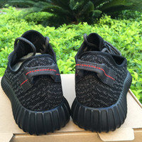 Wholesale 2016 Quality Kanye Milan West Boost Classic Gray Black Men s Fashion Sneaker Shoes With Box Sports Shoes US Size5