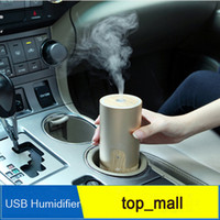 Wholesale Nanum Car Plug Air Humidifier Purifier Vehicular essential oil ultrasonic humidifier Aroma mist car fragrance Diffuser DHL