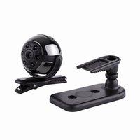Supper Mini 360 lampe de détection DV Spy HD1080P Sport Caméra 12MP voiture DVR Mouvement multifonction infrarouge Rotating SQ9 Mini Enregistreur vocal Vidéo