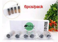 Wholesale 6pcs Box Roll on Glass Bottles ml Amber Glass Bottles with Ball for Essential Oil Perfume e Liquid etc