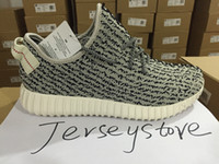 Wholesale with Box Top Quality Kanye Milan West Boost Moonrock Oxford Tan Pirate Black Turtle dove Men Trainers Shoes Running