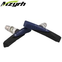 Wholesale NEW Pair MTB Mountain Bike Road Bicycle Cycling Braking V Brake V Brake Pads Blocks Holders Durable Rubber Shoes mm free ship