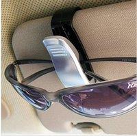 Wholesale Quality car glasses clip sun shading board paper clip card stock car glasses clip multifunctional trainborn eyeglasses frame