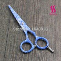 Wholesale 5 quot color hair scissors sets hair scissors bag hair scissors sale hair scissors sale