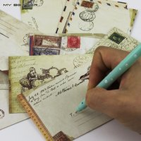 Wholesale Mini Cute Kawaii Paper Envelope Retro Vintage European Style for Card Korean Stationery