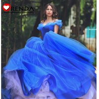 best fairy pictures - 2015 Best Selling Luxurious Puffy Ball Gown Blue Princess Elegant Fairy Floor Lenght Formal Evening Prom Dresses Orenda