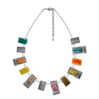 american connection - Fashion enamel necklace pendant cable connection blending fashion statement necklace female jewelry