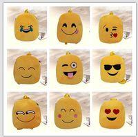 Wholesale albb Satchel Bags emoji expression Satchel Bags Fashion QQ Bag Kids Backpack Handbags Children Backpacks Girls ETB27