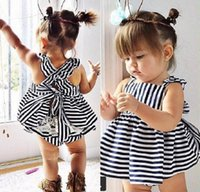 baby beach wear - kids clothing HOT SALE summer new baby sets summer wear sleeveless set Children clothing suit dress shorts baby clothes sets