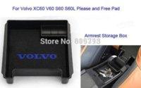 cd storage box - Black Car Armrest Storage Stowing Tidying Mini Box For Volvo S60 S60L V60 XC60 Mounts amp Holder