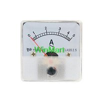 Analog Only 2.5 AC 0-5A Wholesale-Plastic Housing AC 5A Analog Ampere Panel Meter Ammeter